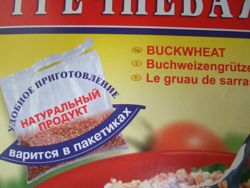 Russian buckwheat exported to America